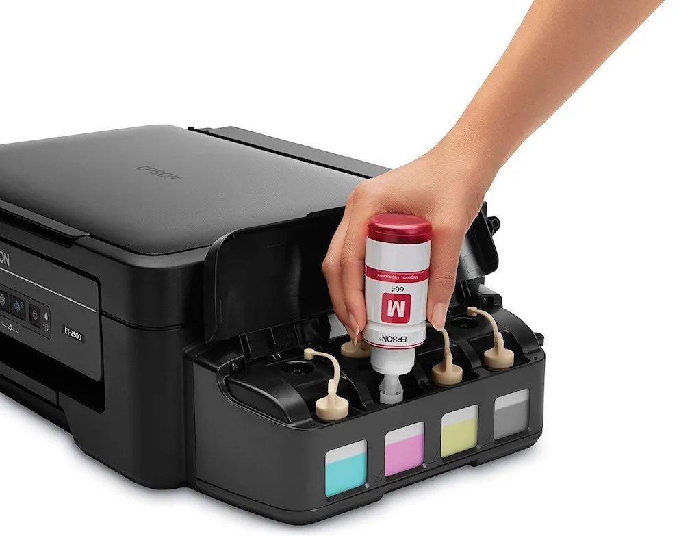 Image result for Epson Expands its Cheap-to-Run EcoTank Printer Range.