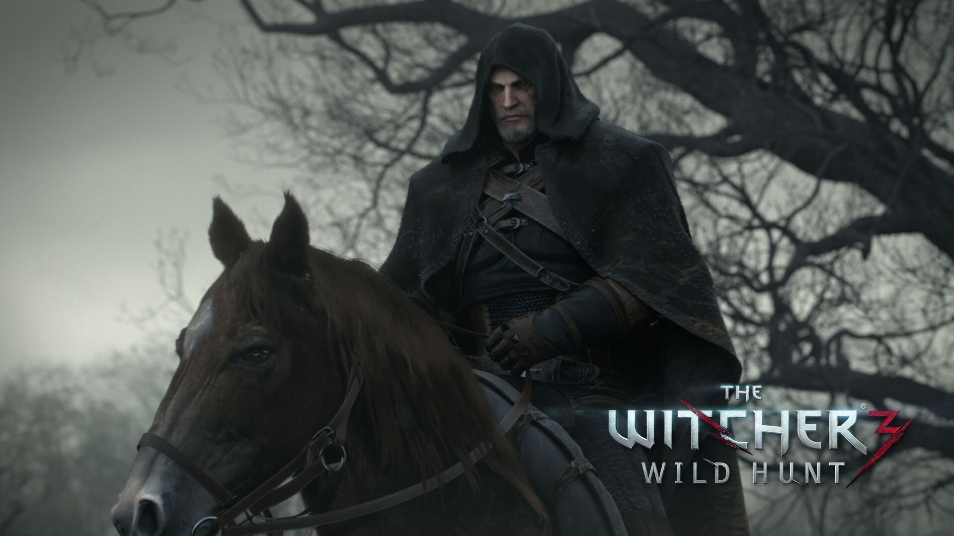 The Witcher 3: Wild Hunt 1080p Geralt Wallpaper