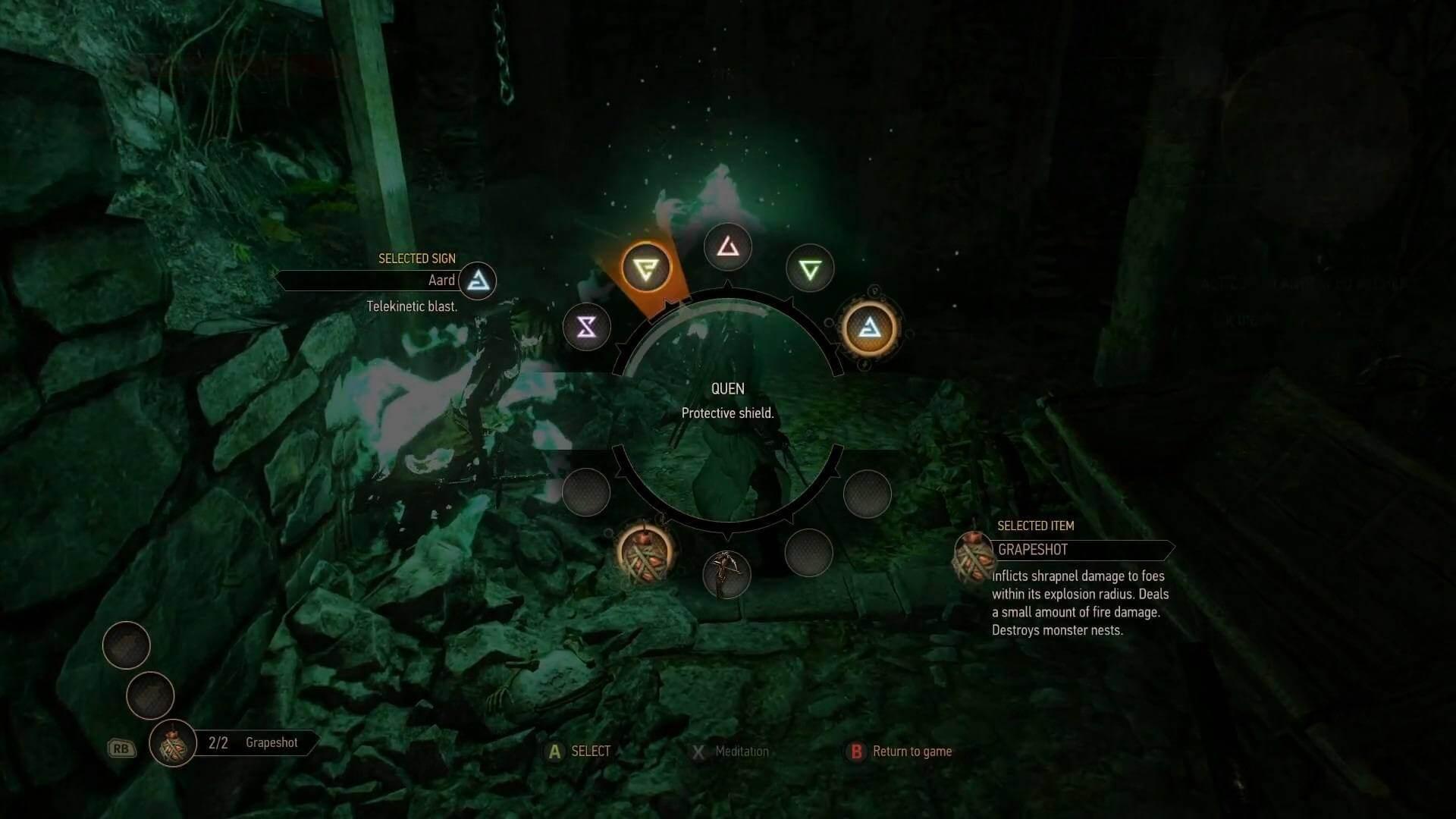 witcher 3 wild hunt magic sign igni combat