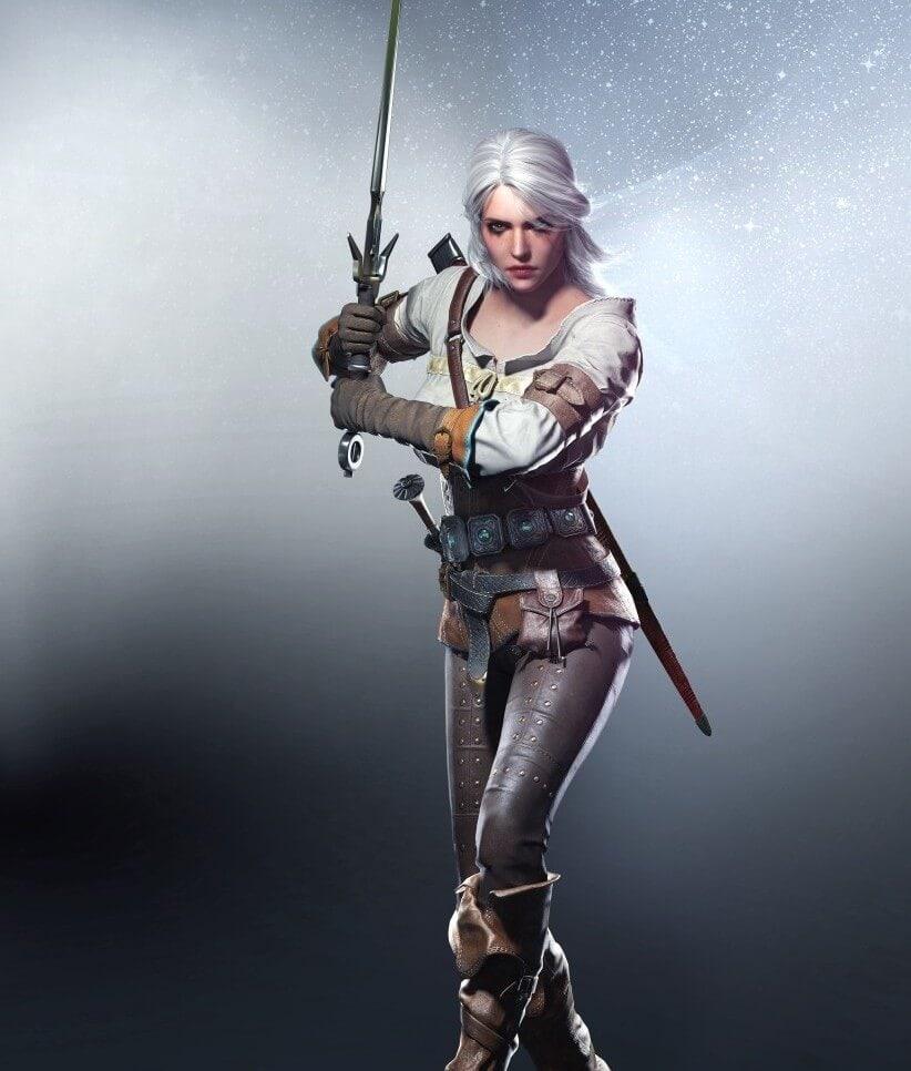 The Witcher 3: Wild Hunt Ciri Artwork