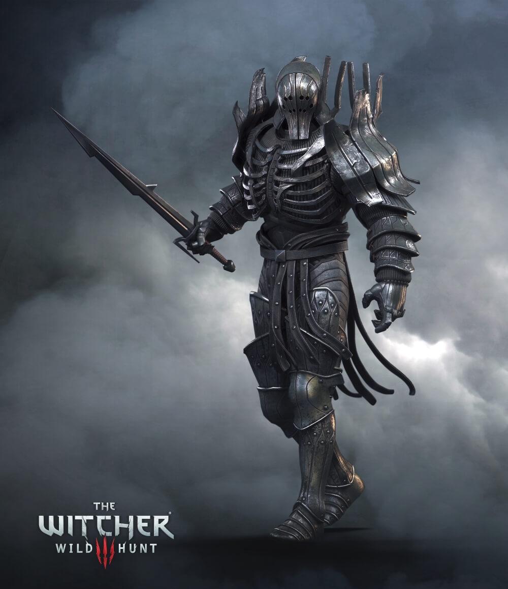 The Witcher 3: Wild Hunt Warrior Artwork