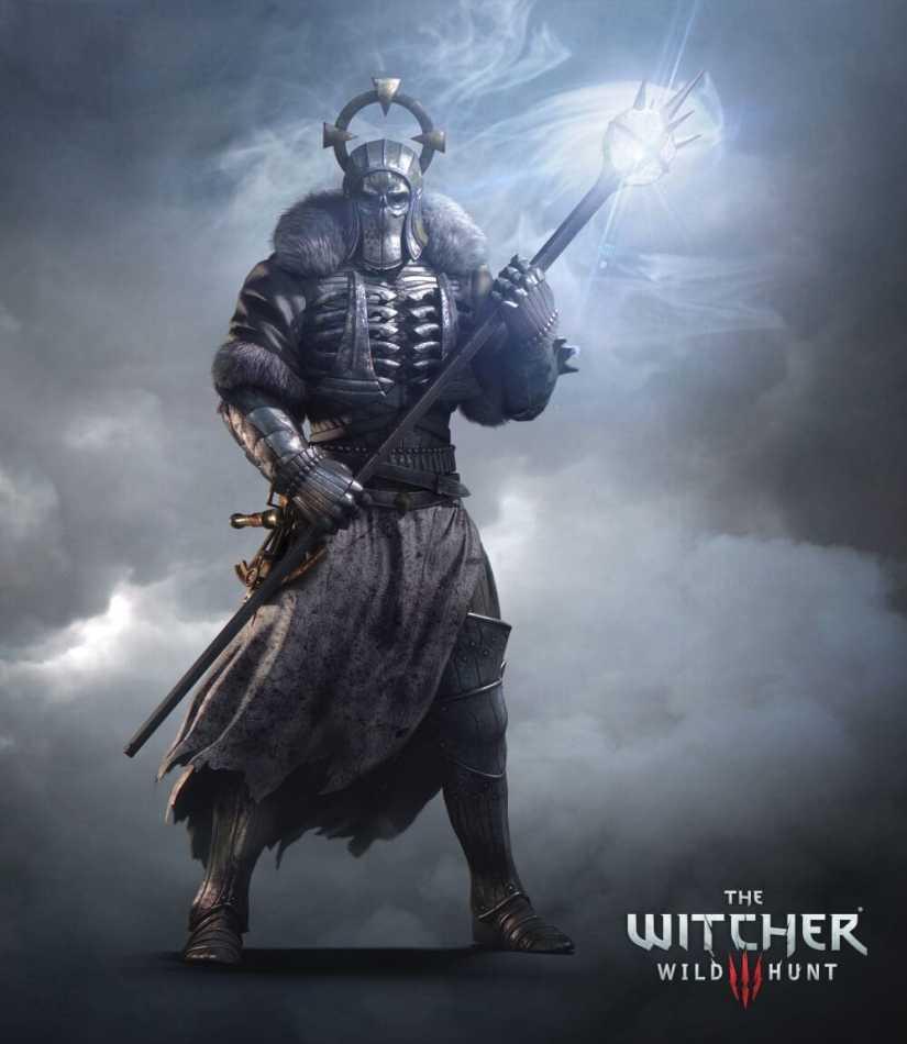 The Witcher 3: Wild Hunt Mage Artwork