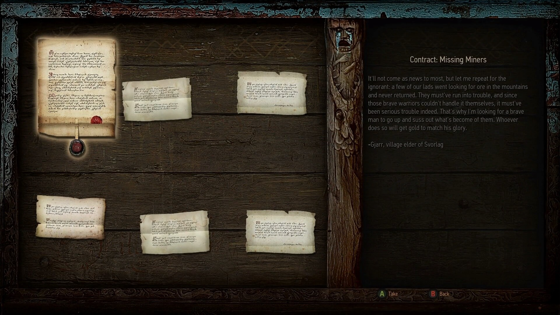 witcher 3 wild hunt quest mission board