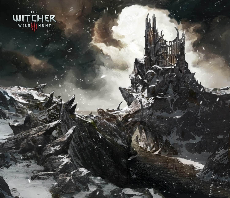 Witcher 3 Wild Hunt Environment Artwork