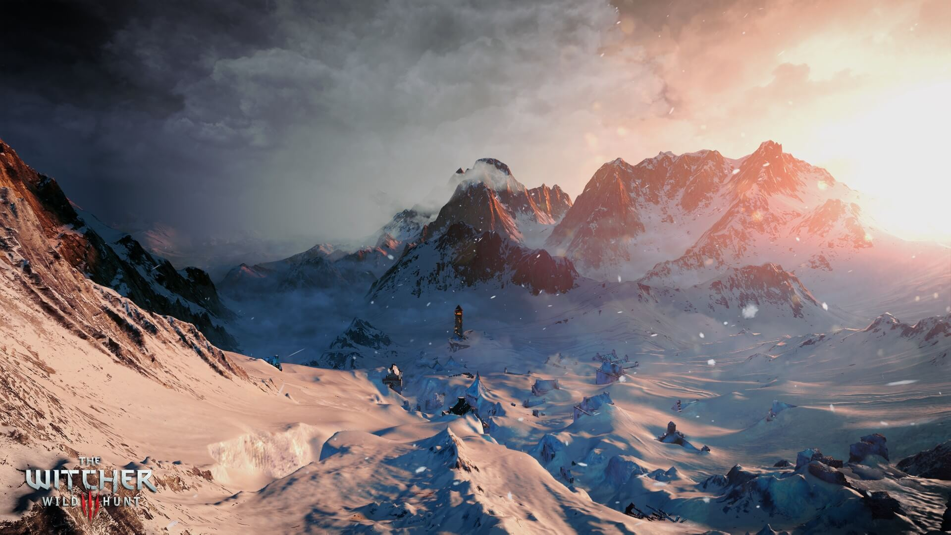 The Witcher 3: Wild Hunt Snow Environment Screenshot