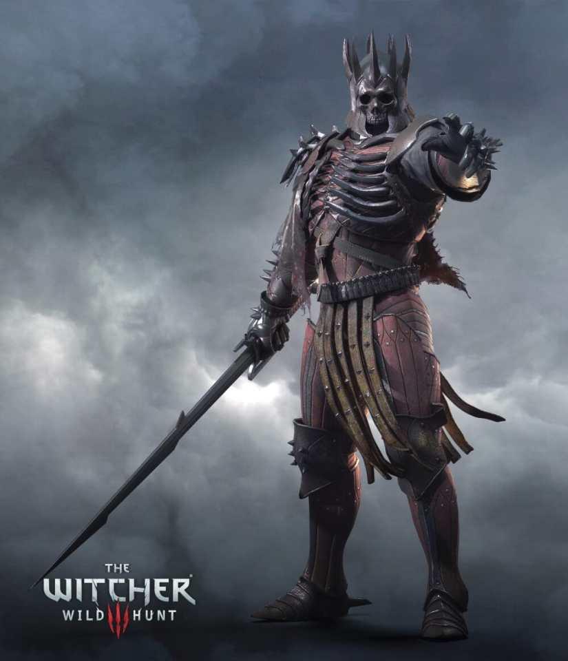 The Witcher 3: Wild Hunt King Artwork