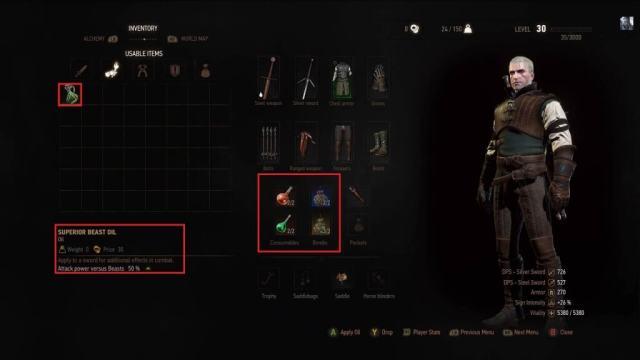 Witcher 3 Wild Hunt Alchemy
