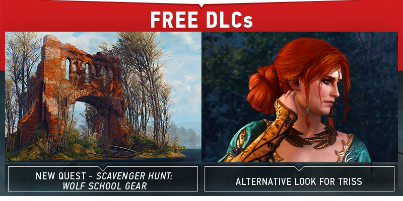 Witcher 3 New DLCs announced: Scavenger Hunt: Wolf School