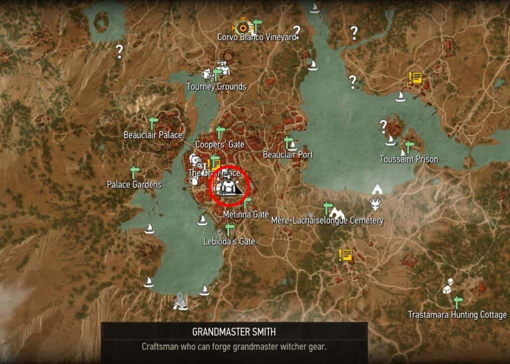 grandmaster smith location toussaint beauclair