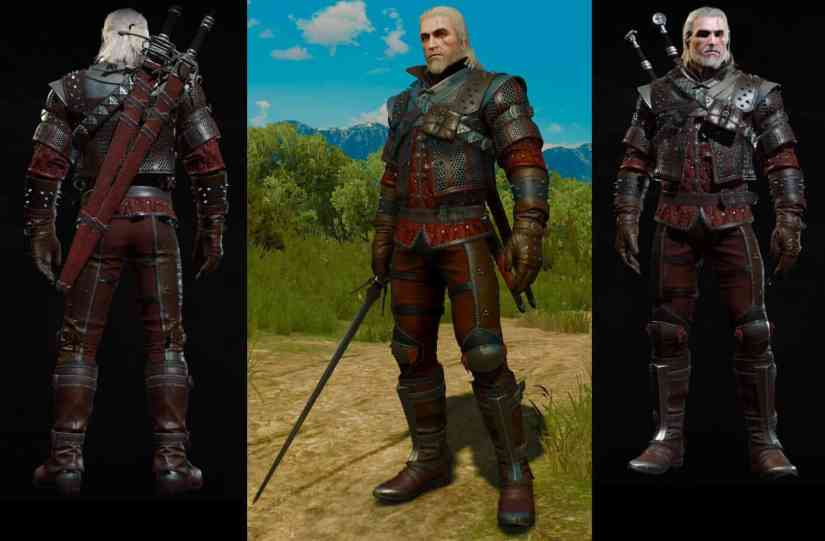 grandmaster wolven gear set