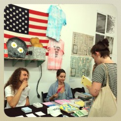 Bushwick Art Book & Zine Fair 2016. July 2016. Photo by Michele Witchipoo.