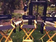 Chaises des acteurs
