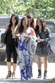 6 août 2013 - Mädchen Amick, Rachel Boston et Jenna Dewan.