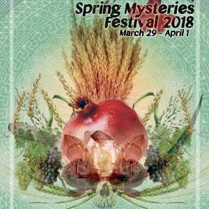Spring Mysteries Festival Poster 2018