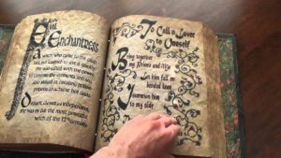 Charmed spellbook