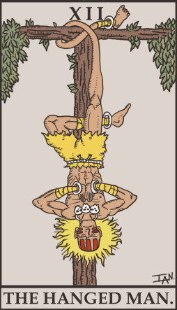street_fighter_tarot___the_hanged_man_by_sayianianian-d4zytwm