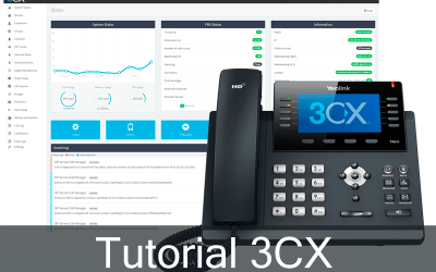Tutorial 3CX – Demonstração de Equipamentos para Central de Telefonia IP