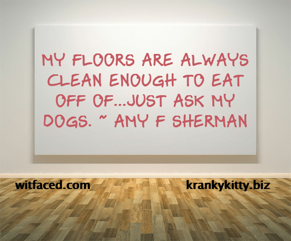 Clean floors xx