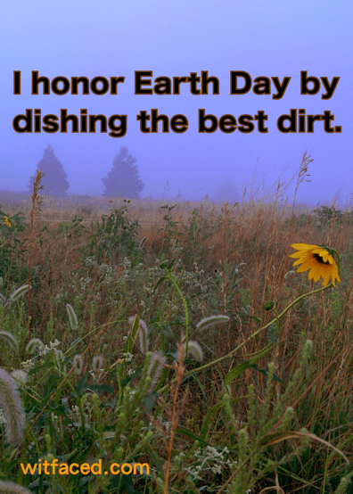 EARTH DAY meme xx