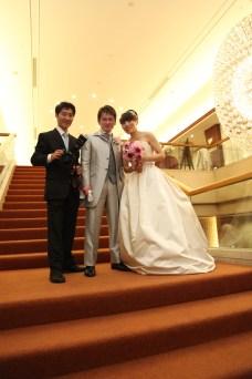 結婚式写真 如水会館