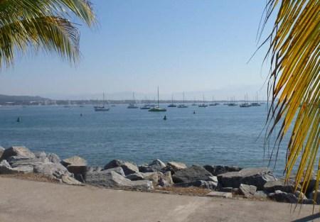 Brio at anchor in La Cruz