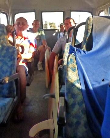 Bus ride from Sayulita to La Cruz
