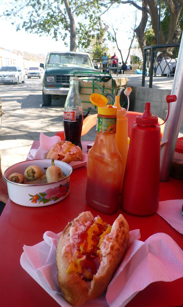 Shrimp Stuffed Hot Dogs