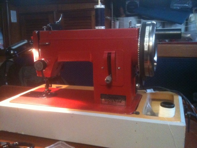 the sailrite ultrafeed machine