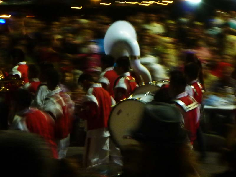 Mazatlan Carnaval - marching band -- they love their tuba!