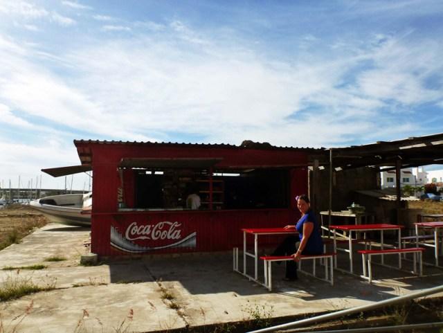 Yolanda's restaurant on the Isla in Mazatlan Marina area