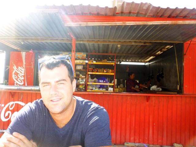 Jon at Yolanda's in Mazatlan