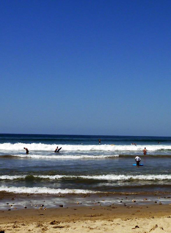 Sayulita Surf -- looking pretty tame today!