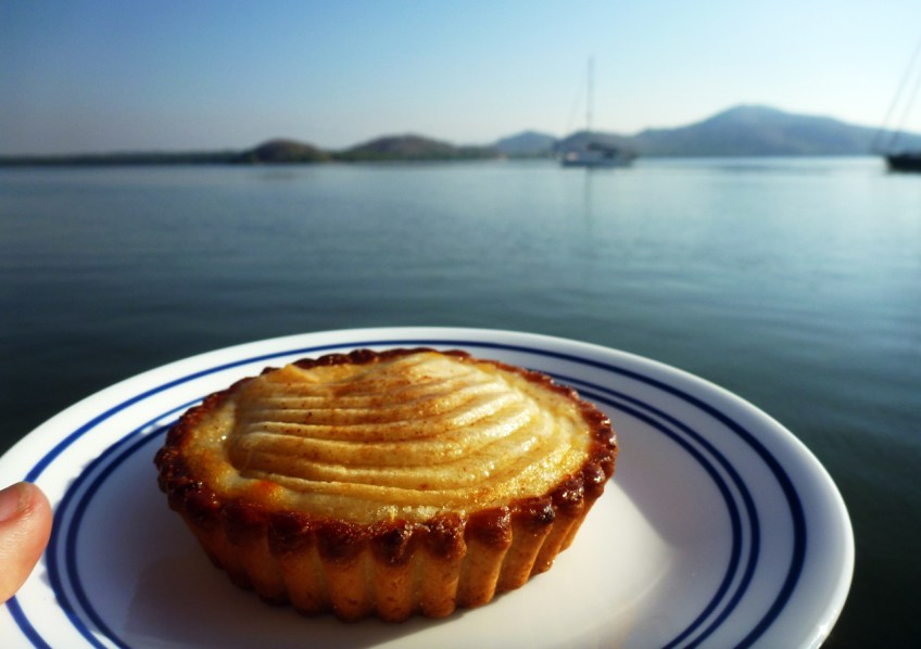 Pastries - un tarte de pomme from the French baker