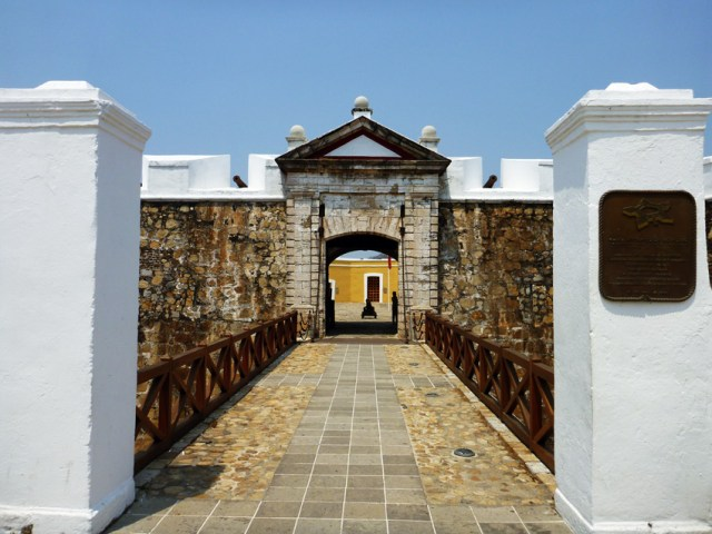 Fort San Diego in Acapulco