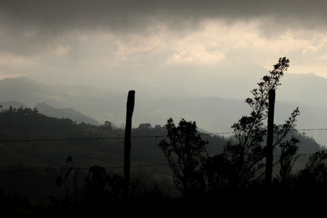 Amazing mountains of Honduras