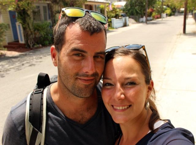 Jon & Leah in Key West, Florida