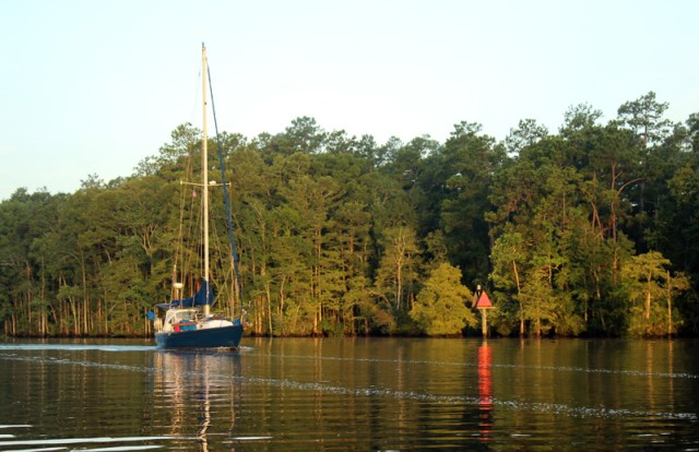 Waccamaw River on the Intracoastal in South Carolina Brio