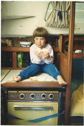 I learned to knock on wood at a young age
