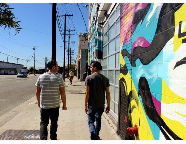 Brothers - in East LA
