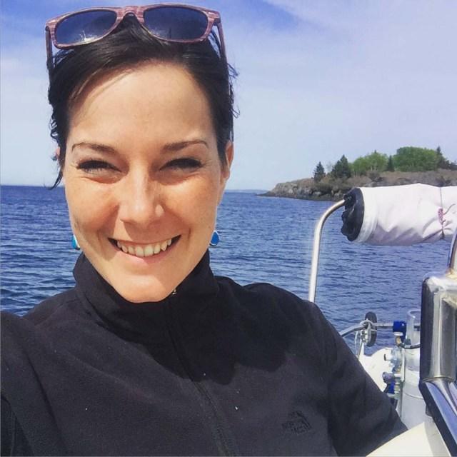 Sailing in Maine - Happy days on Jewel Island