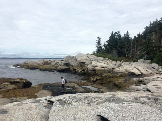 Harbor Island, Muscongus Bay - There are worse places to be stuck!