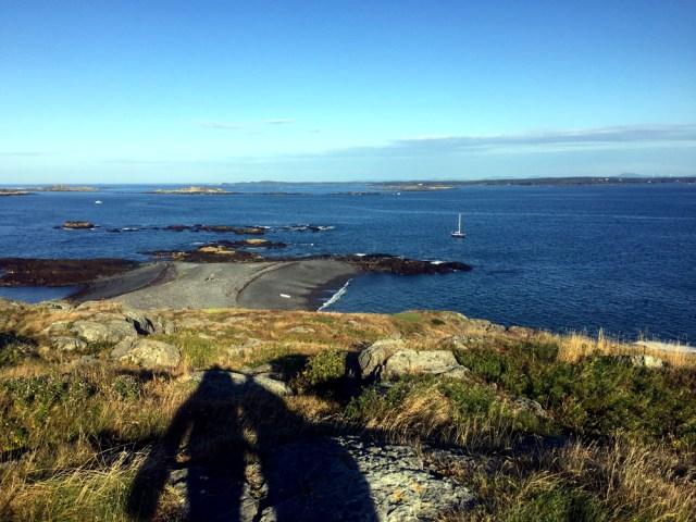 Brimstone Island, Penobscot Bay, Maine - Anchored