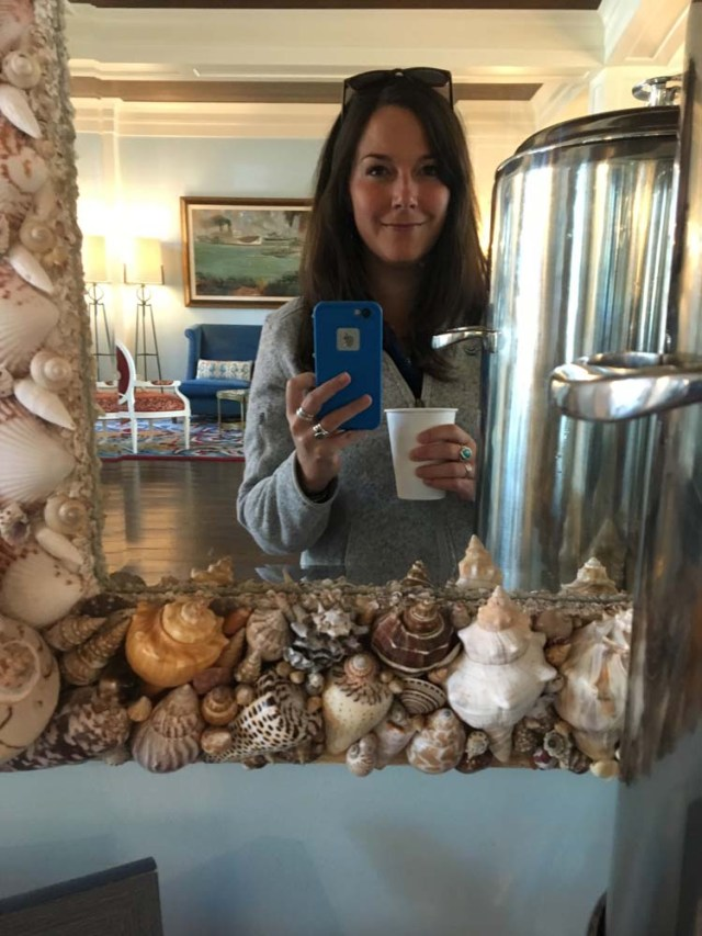 Can't miss the hot chocolate bar at the Beach Club