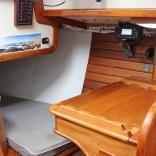 6 Interior Quarterberth and Nav Seat