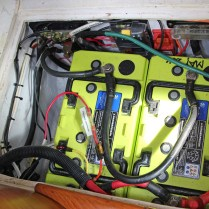 8 Firefly AGM Batteries and Wiring