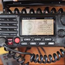 8 Standard Horizon VHF with AIS Receiver