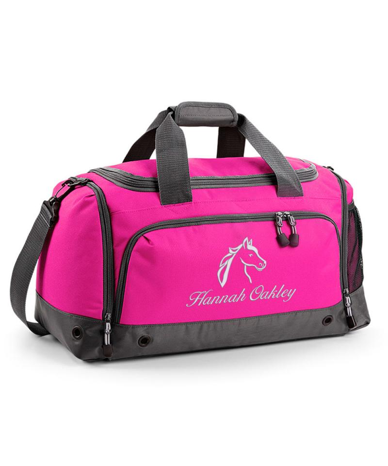 kitchen napkins unit personalised horse riding holdall bag | withcongratulations