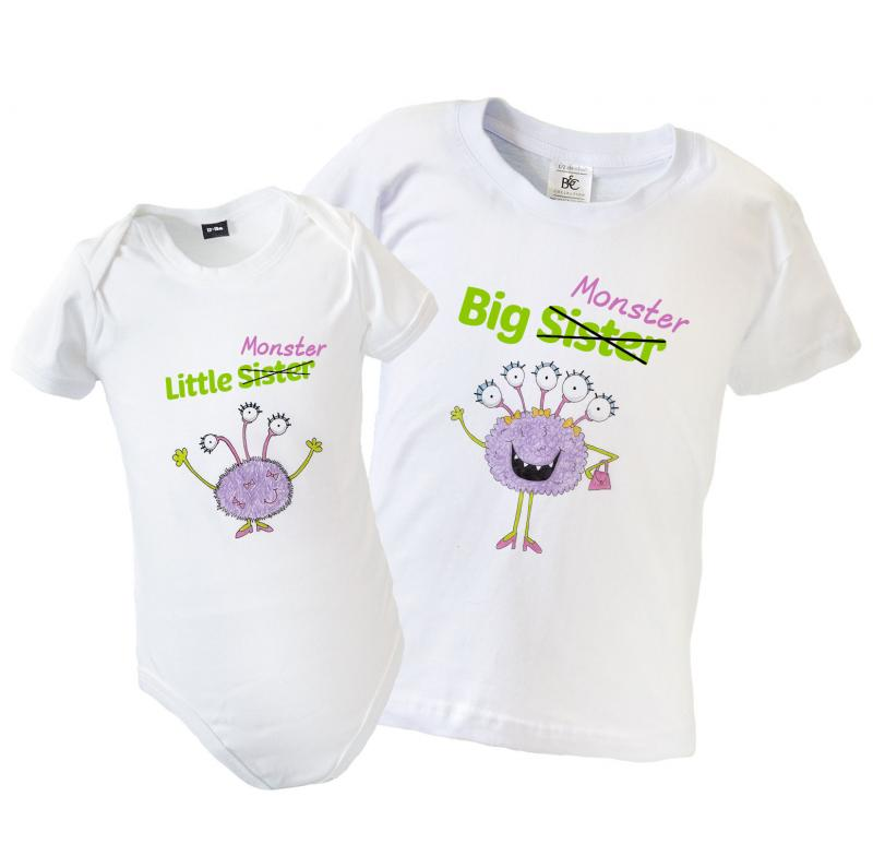 kitchen and dining sets black trash can big little brother sister matching t-shirt & babygrow ...