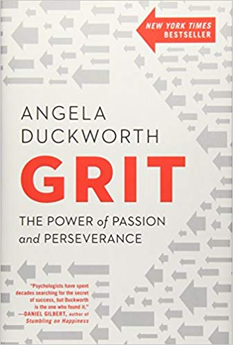 Personal Development and Business Books I'm Enjoying Right Now: GRIT
