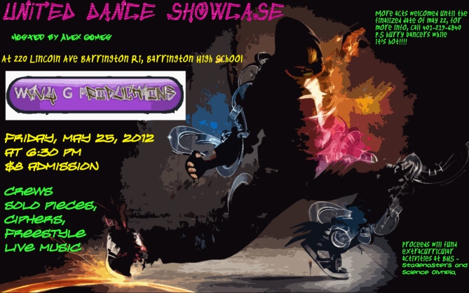 United Dance Showcase event